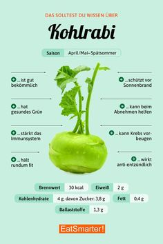 You should know this about kohlrabi! You should know this about kohlrabi! Health Facts, Health Tips, Health And Wellness, Law Carb, Chou Rave, Healthy Life, Healthy Eating, Healthy Protein, Eating Raw