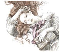 Dracula by Anne Yvonne Gilbert, via Behance