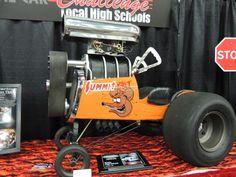 Custom Pedal car at the Detroit Autorama