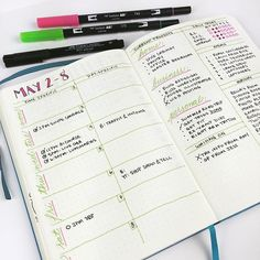 #PlanWithMeChallenge Day 4: Weekly  My weekly spread has evolved a bit over the…