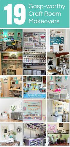 22 gasp-worthy craft room makeovers | Hometalk