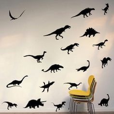Dinosaur Pack Wall Decals - From Trendy Wall Designs