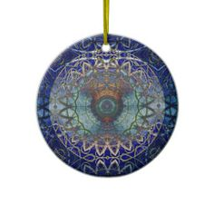 Sold one of these ornaments.   Mandala of the Noedic Web  Ornament from Bill M. Tracer Studio: http://www.zazzle.com/mandala_of_the_noedic_web_ornament-175172678369487098 #ornament #fractals #art #contemporary #postmodern