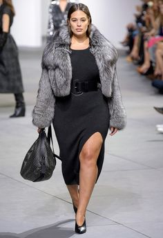 Fashion Week Fall 2017: See Every Celebrity in the Front Row - Ashley Graham in Michael Kors