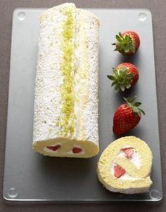 biscuit roulé à la fraise : recette de cuisine proposée par ELLE à Table - Recettes Elle à Table Dans ce tableau, les recettes sont dans les commentaires.....
