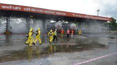 NDRF Mock Exercise at IOCL LPG Gas Bottling Plant at Raninagar near Jalpaiguri