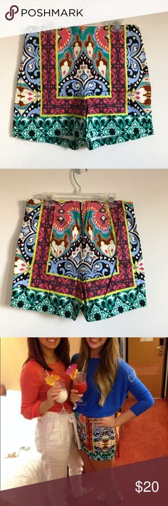 Bohemian high waisted shorts Size S These bad boys are perfect for that winter trip to the beach or summer day! Worn twice. Shorts