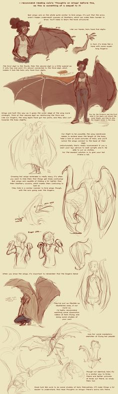Bat Wing Tutorial by harrie5 on deviantART