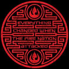 Everything Changed When the Fire Nation Attack by johnnygreek989.deviantart.com on @DeviantArt