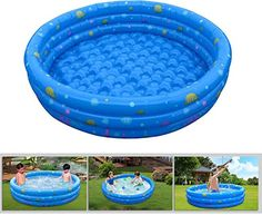 Mother & Kids Selfless Children Inflatable Toy Sofa Round Type Trampoline Indoor Outdoor Playground Play Ball Pool Thick Pvc Material