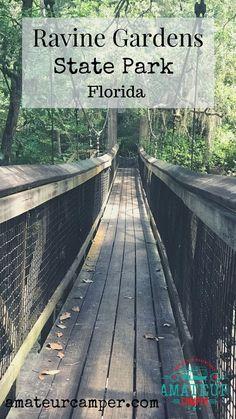 Hiking Ravine Gardens – Amateur Camper Florida Parks Hiking Ravine Gardens – Famous Last Words Hiking In Florida, Florida Travel, Travel Usa, Florida Trips, Florida Vacation, Florida Beaches, Camping And Hiking, Hiking Trails, Ravine Gardens State Park