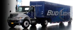 Clare Rose Inc. Bud Light delivery truck