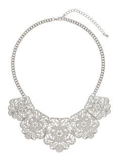 Filigree Section Collar - Miss Selfridge
