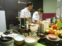La chef Viviana Varese all'opera da Congusto per Warsteiner