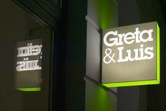 Greta & Luis   Our multi brand store at Kastanienallee 43 in Berlin Mitte #gretaundluis #retail #corporate #design #lit #blade