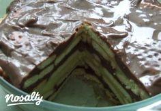 Rakott pudingos-kekszes desszert | Nosalty Izu, Minion, Yummy Treats, Asparagus, Green Beans, Food And Drink, Pudding, Sweets, Vegetables