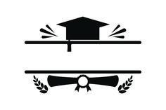 Graduation Monogram (SVG Cut file) by Creative Fabrica Crafts · Creative Fabrica Creative Flyer Design, Creative Flyers, Typography Design Layout, Layout Design, Monogram Design, All Craft, Svg Cuts, Design Crafts, Cricut Design