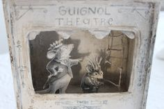 Guignol Puppet...French THEATRE... Opera Dance by BurlapLuxe