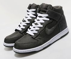 39ef727af133b3 Nike Dunk High - Midnight Fog - White - SneakerNews.com