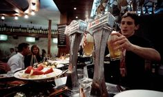 Bar-celona … some Barcelona bars are offering a caña of beer or small glass of wine with a tapa for just €2. Photograph: Ace Stock Limited/A...