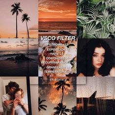 Dark coastal filter edit feed for your photo photography VSCO