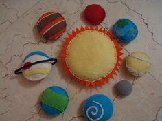 another felt solar system