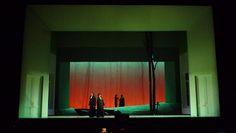 Eugene Onegin. LA Opera. Scenic design by Antony McDonald. 2011