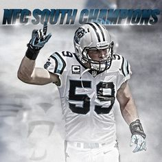 from Carolina Panthers The Carolina #Panthers are the NFC South Champions! #KeepPounding