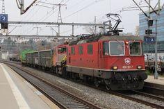 Swiss Railways, Trains, Locomotive, Train