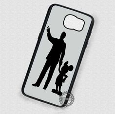 Famous Silhouette Mickey Mouse - Samsung Galaxy S7 S6 S5 Note 4 Cases & Covers