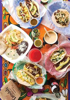 """Why is Austin such a breakfast taco town? """"You have all kinds of people needing to eat at all different times,"""" Roberto Espinosa told us at Tacodeli, a chain he started in 1999. Originally a schoolteacher, Mexico–born Espinosa opened the first branch, and has watched his business grow every year."""