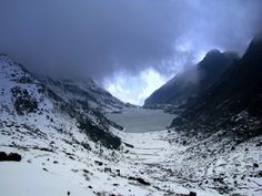 Tsongmo Lake, Easter Himalayas,Sikkim..with frozen hands this shot was taken on my recent trip.