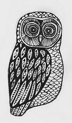 If i was daring enough to get another tattoo i think id get something like this owl...i think owls are one of the most beautiful birds out there and it was something my grandma and i had in common!