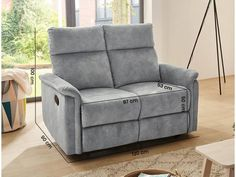 Sofa Amrum 3 In Vintage Hellgrau Online Bei Hardeck Kaufen Sofa
