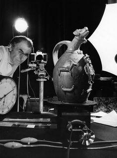 Atelier Robert Doisneau  Le classement des photographies de et par Doisneau