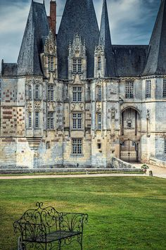 Ancient Castle, Normandy, France