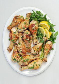 Lemon-Garlic Chicken Drumsticks | POPSUGAR Food