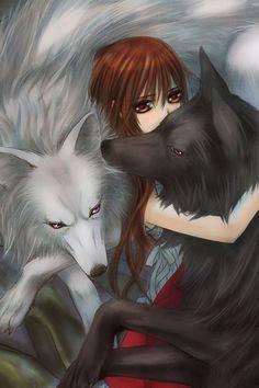 Yuki with Wolf Zero and Wolf Kaname, Vampire Knight