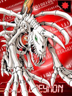 SkullGreymon Digimon Collectors card