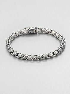 Scott Kay Sterling Silver Chain Bracelet
