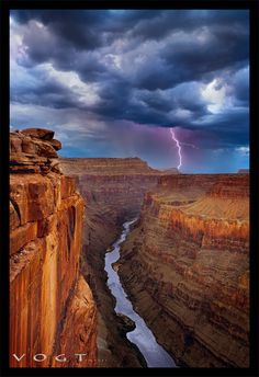 Lightning Storm over Toroweap Point The Colorado River ~ Grand Canyon National Park, Arizona Grand Canyon National Park, Us National Parks, Beautiful World, Beautiful Places, Wild Nature, Adventure Is Out There, Cool Photos, Amazing Photos, Natural Wonders