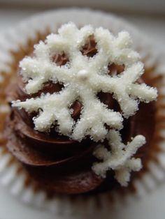 Chocolate Snowflake Cupcake from Truly Great Cupcakes     https://sphotos-a.xx.fbcdn.net/hphotos-ash2/s720x720/533530_304054673045684_1530531972_n.jpg