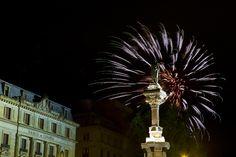 Fuegos artificiales #sanfermines #SanFermín #SF14 #Pamplona