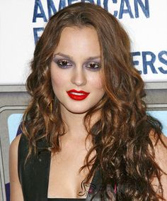 20 Inch Wavy Leighton Meester Full Lace 100% Human Wigs