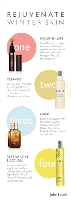 Restore and revitalise distressed winter skin with our best skincare products, to give you a natural healthy glow.