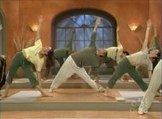 Inhale with Steve Ross. Best yoga ever. I miss it. :(