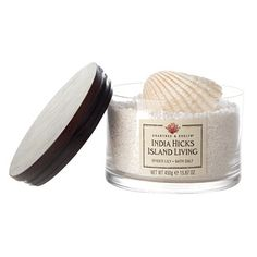 """""""Spider Lily"""" India Hicks Island Living bath salt, $30, from Crabtree & Evelyn"""