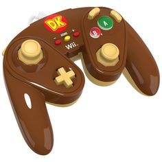 PDP Wired Fight Pad for Wii U - Donkey Kong, #085-006-DK