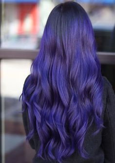 Purple Waves For Days Beautiful Hair Color Ideas - Mdren Hub Hair Color Purple, Cool Hair Color, Hair Colors, Messy Hairstyles, Latest Hairstyles, Hairstyle Ideas, Colored Hair Tips, Latest Hair Color, Beautiful Hair Color