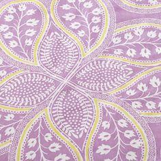 Crib Skirts: Purple Paisley Crib Skirt in Crib Skirts | The Land of Nod